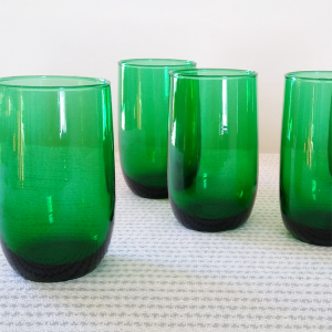 vintage roly poly glasses