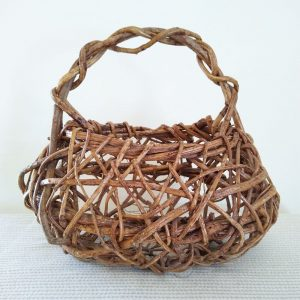 wildly woven handmade basket