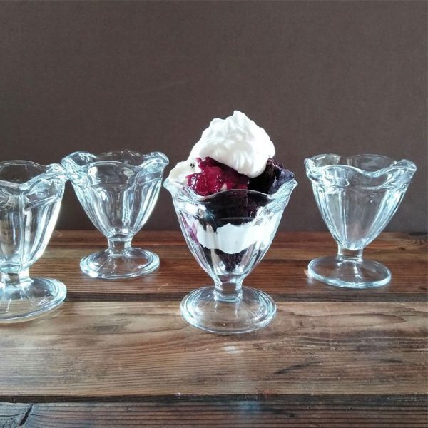 vintage pudding cup