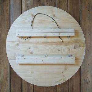 inclusivity wood hex sign